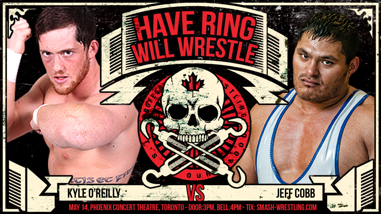 Kyle OReilly vs Jeff Cobb