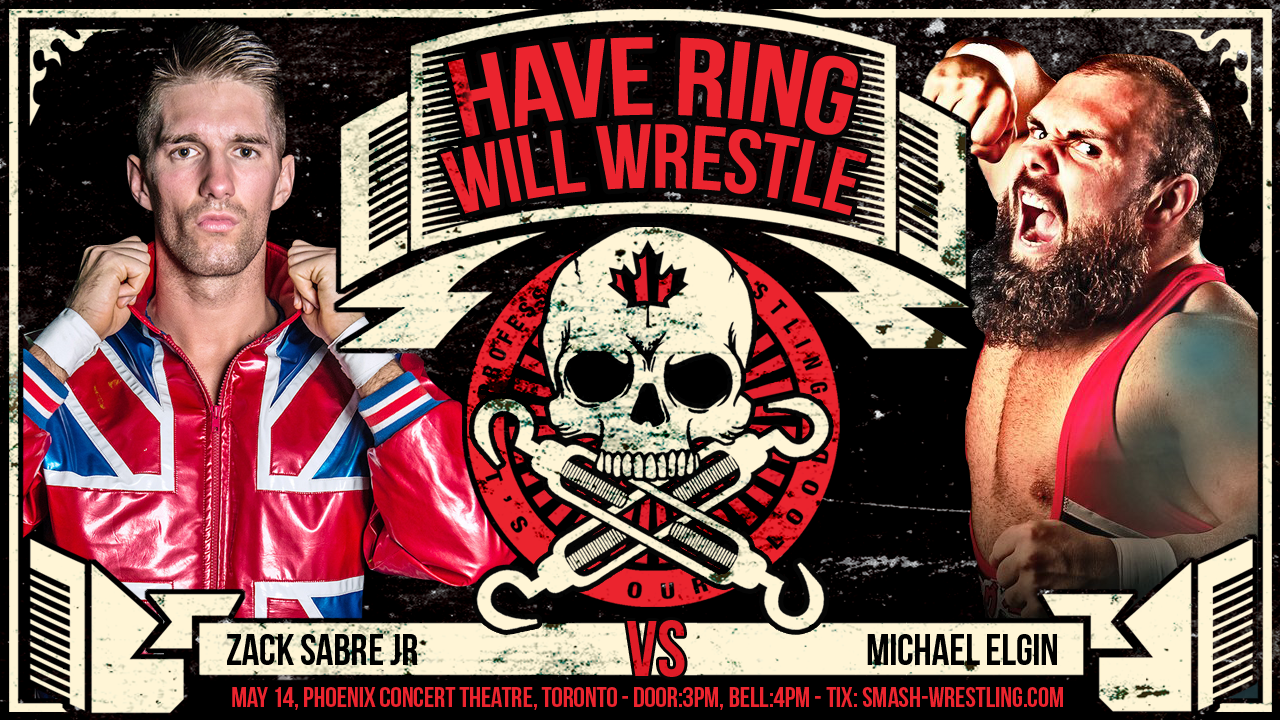 Zack Sabre Jr vs Michael Elgin