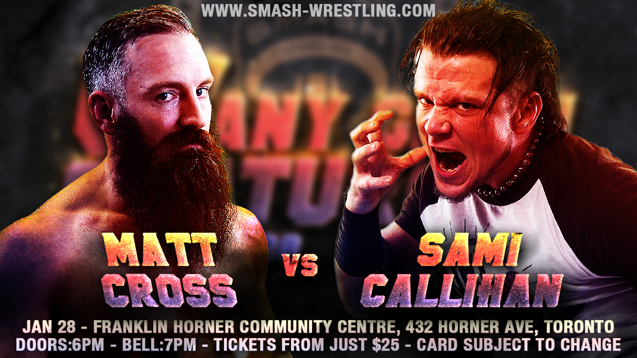 Matt Cross vs Sami Callihan