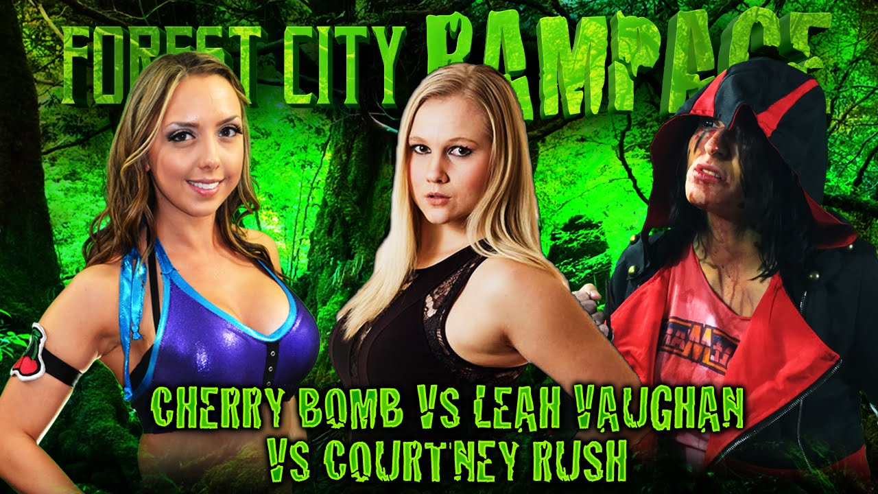 FREE MATCH – Leah Vaughan vs Cherry Bomb vs Courtney Rush