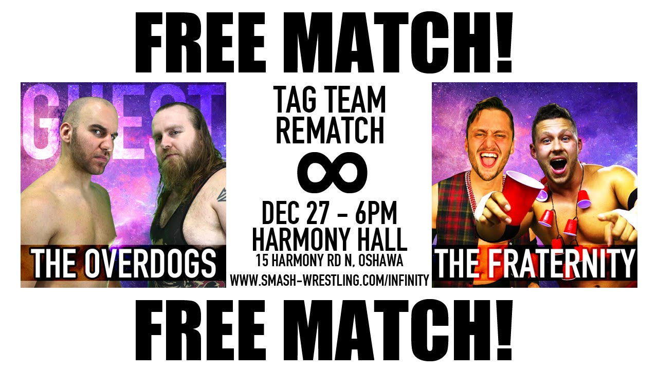 FREE MATCH – The Overdogs Vs The Fraternity